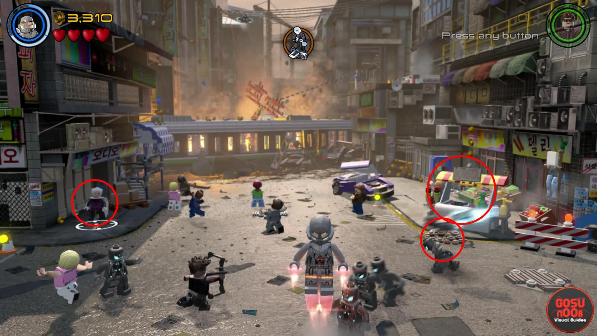 how to get fast build in lego marvel