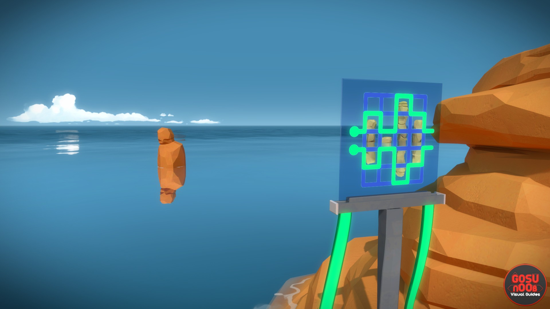 Symmetry Perceptual Puzzle 3 Solution The Witness Gosu