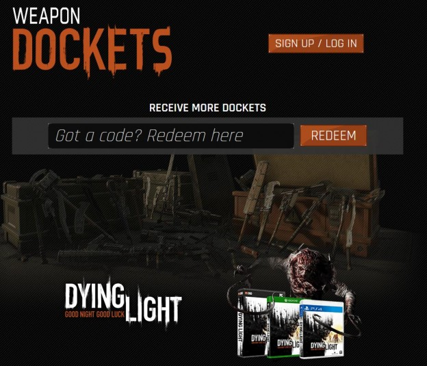 docket codes dying light the following