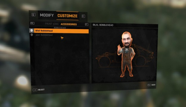dying light bilal bobblehead
