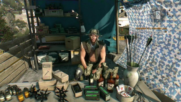dying light the following arrows blueprint location