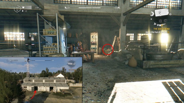 phlebotomizer blueprint location dying light