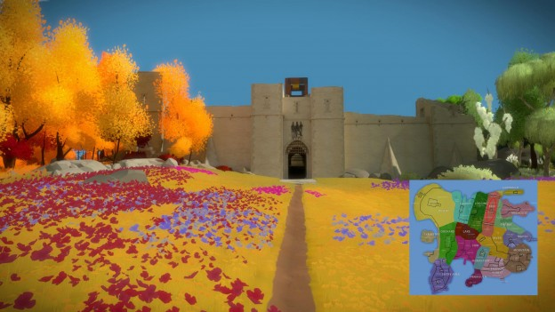 the witness hedge maze