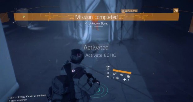 The Division Trophy Mission Completed Achievement