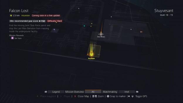 division incursion falcon lost