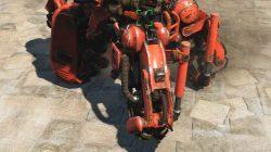 hydraulic frame sentry legs fallout 4