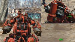 sentry torso hydraulic frame robot