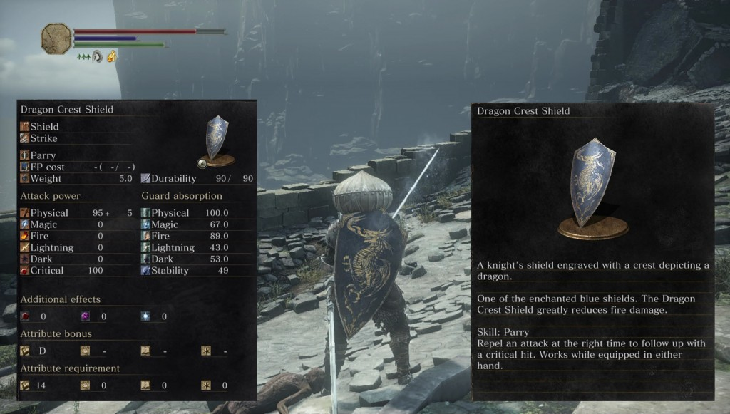 Dragon Crest Shield Dark Souls 3