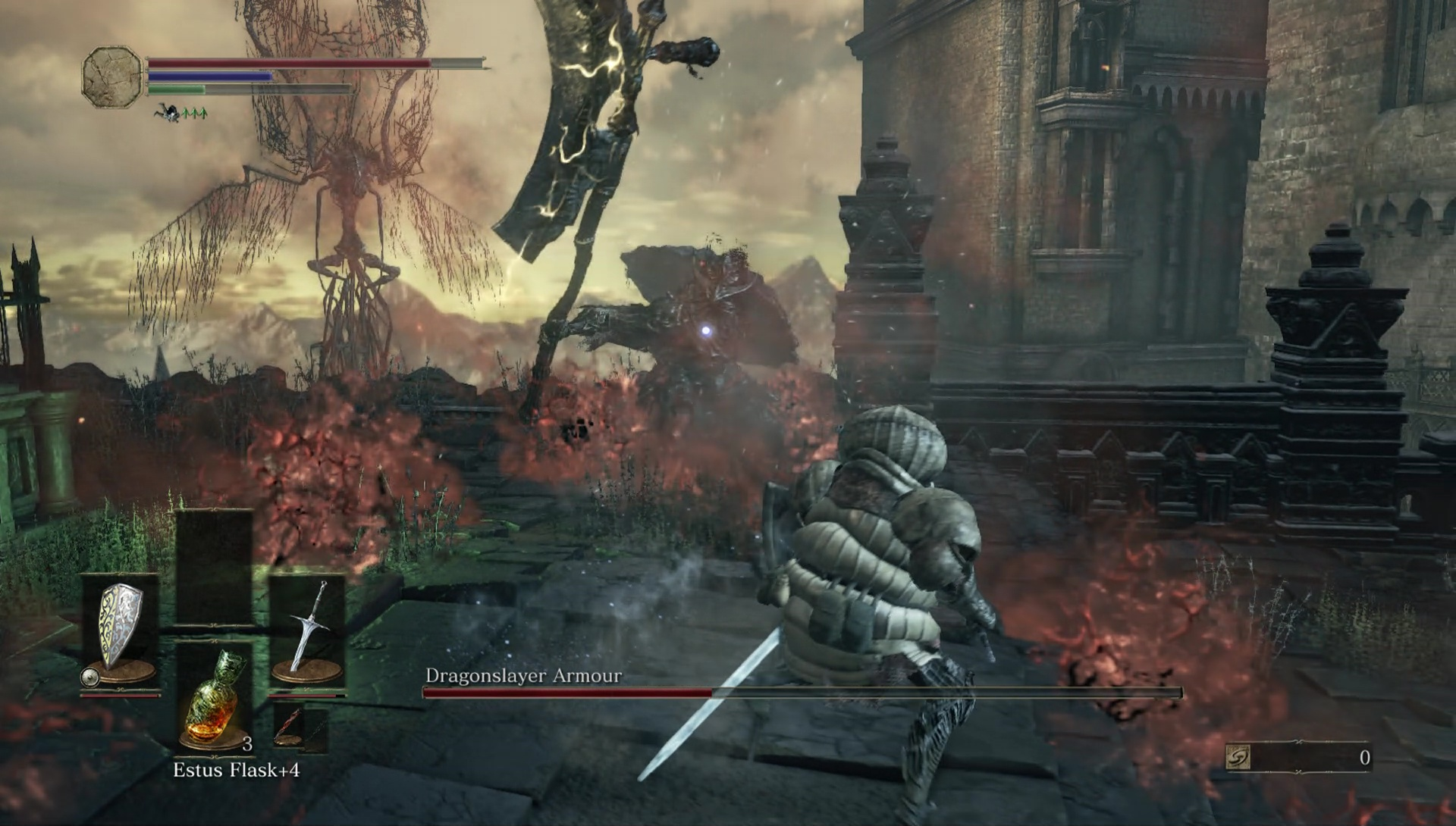 how to kill the 2 dragons in dark souls 3