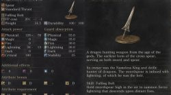 Dragonslayer Swordspear Dark Souls 3