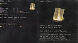 Lighting Storm Miracle Dark Souls 3