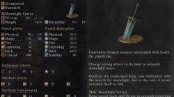 Moonlight Greatsword Dark Souls 3