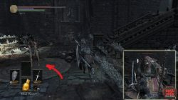 Ricard's Rapier Exact Location Dark Souls 3