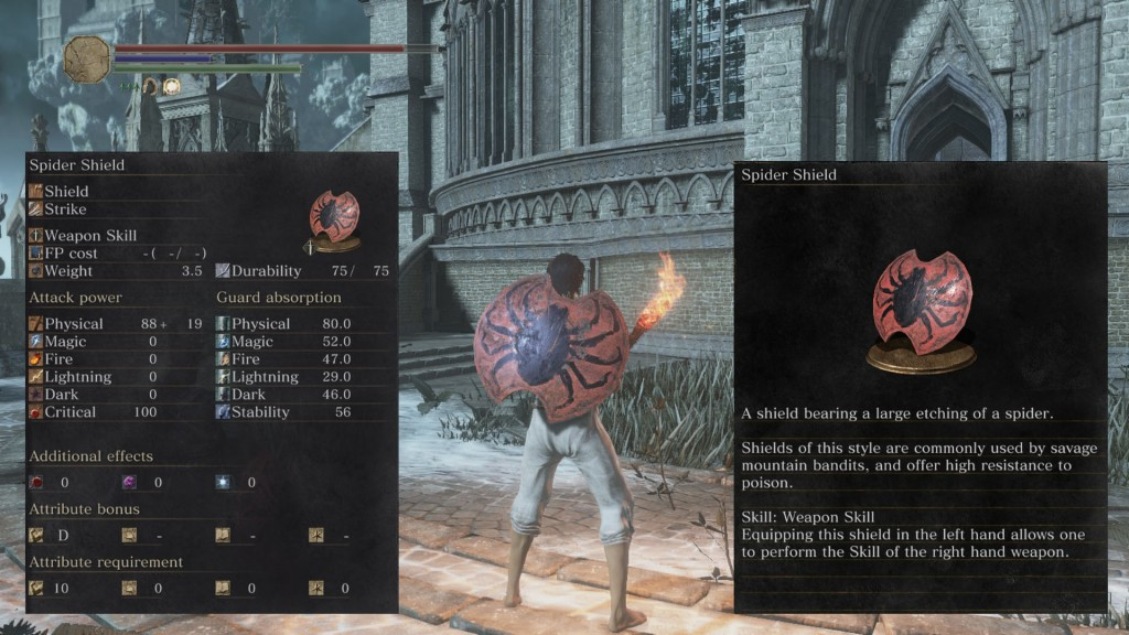 Spider Shield Dark Souls 3