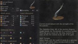 Storm Curved Sword Dark Souls 3