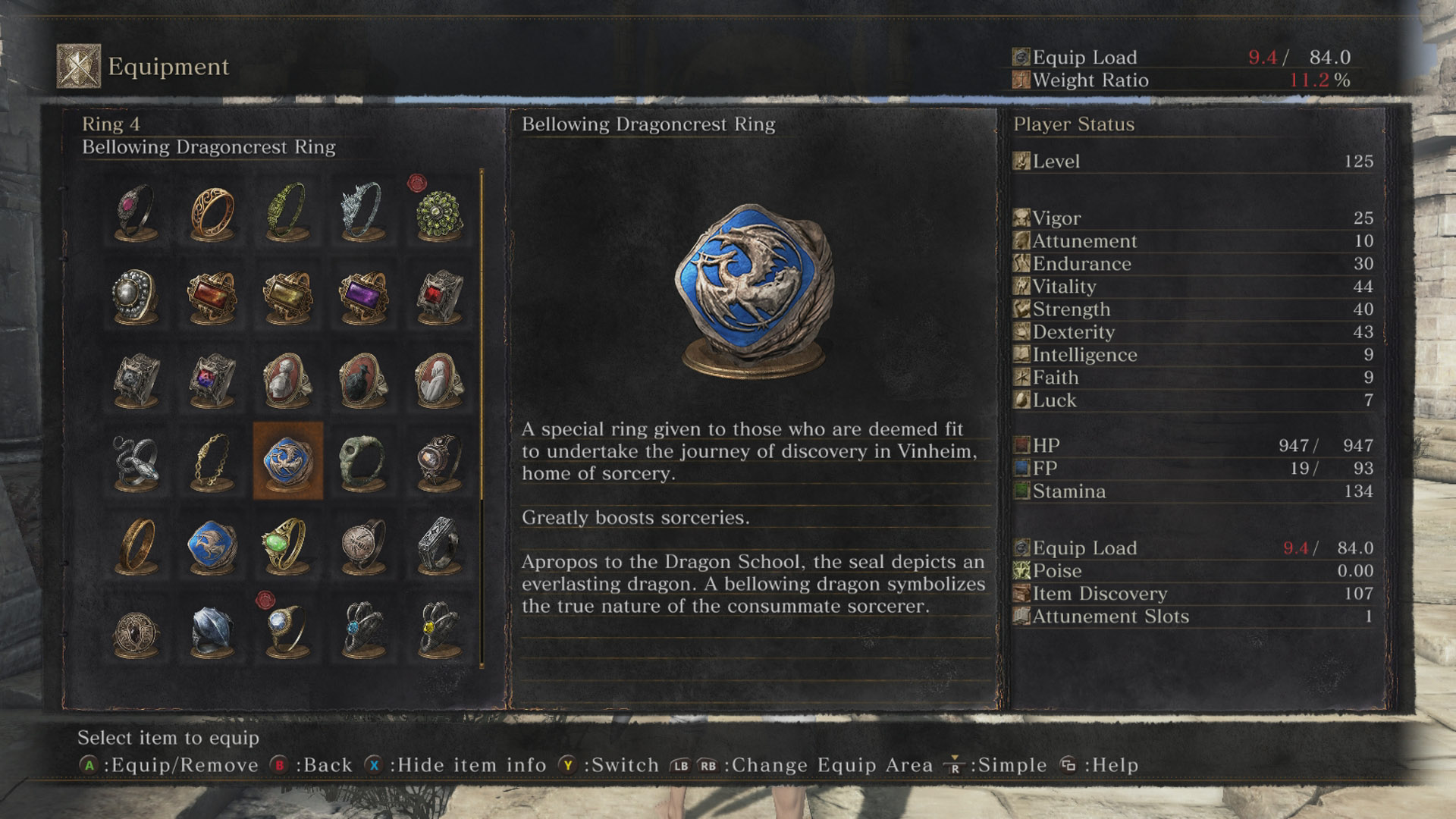 Attune Magic Slots Dark Souls