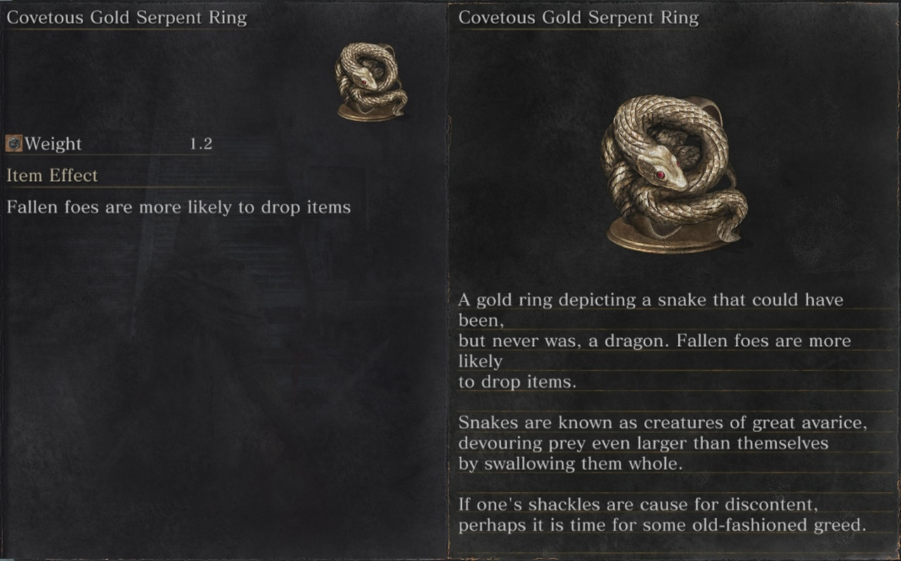 How To Get Gold Serpent Ring  Guide