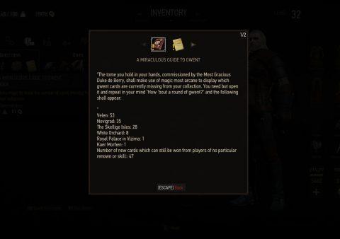 Collect Em All quest fails witcher 3