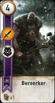 berserker gwent card blood wine