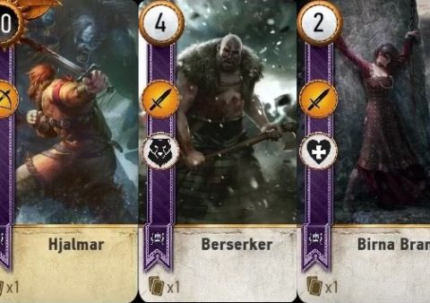 blood wine gwent cards witcher 3