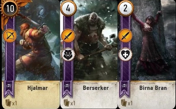 the witcher 3 blood and wine gwent cards