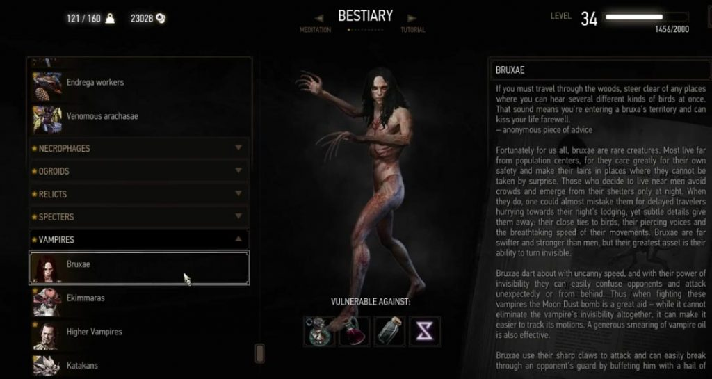 bruxa witcher 3