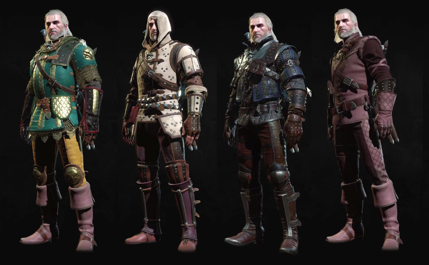 Dyes Amp Armor Customization Witcher 3 Blood And Wine