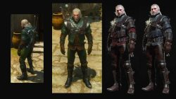 grandmaster wolf armor witcher 3 blood wine dlc