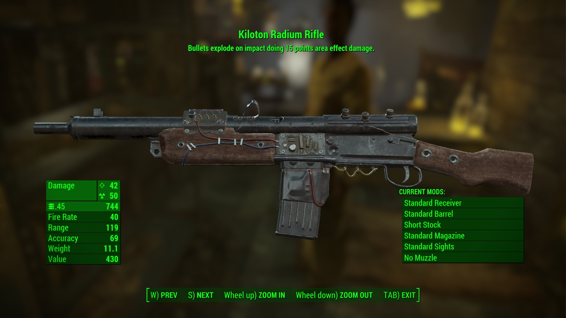 Kiloton radium rifle far harbor fallout 4 for Best house designs fallout 4