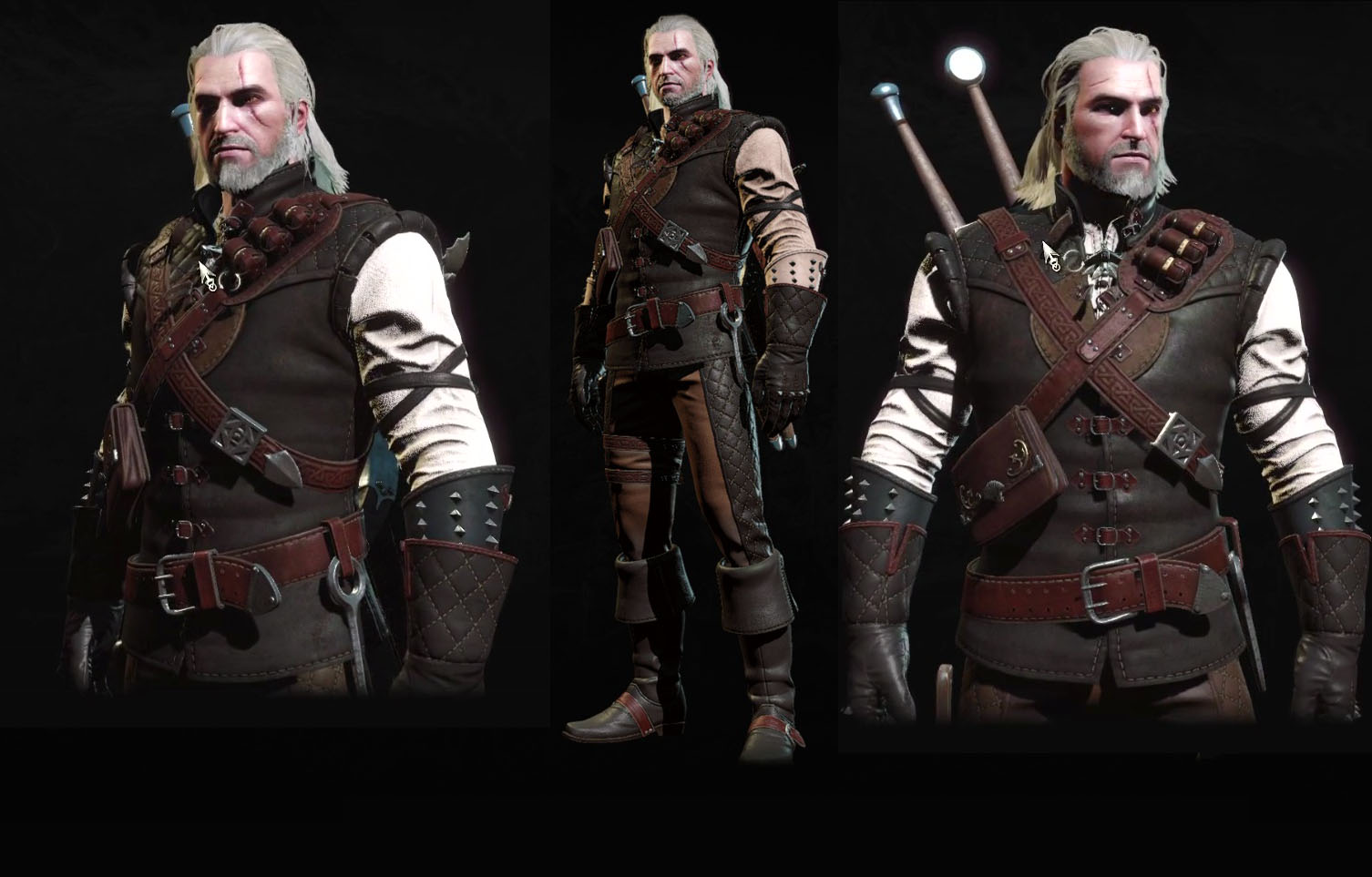 Witcher  Light Armor Build