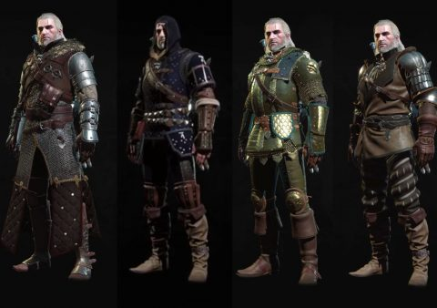 new blood and wine armor sets witcher 3