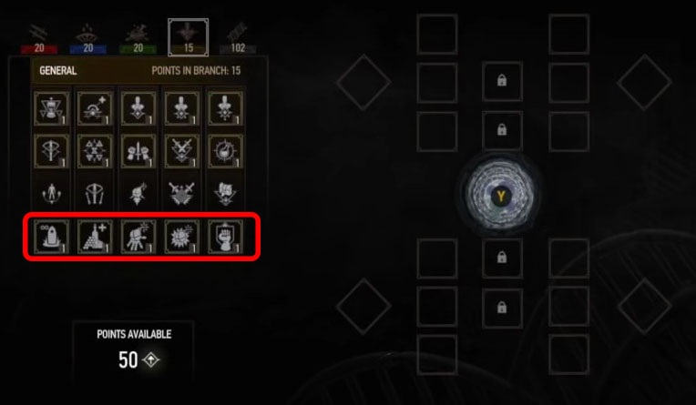 new skills in witcher 3 blood and wine