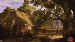 witcher 3 painting herbalist's hut