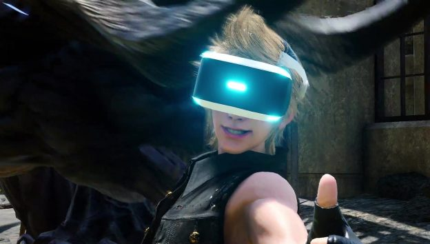 final fantasy xv vr sections announced