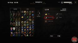 witcher 3 crafting dark iron