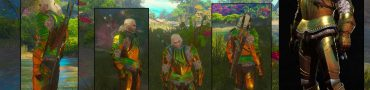 witcher 3 how to get toussaint armor