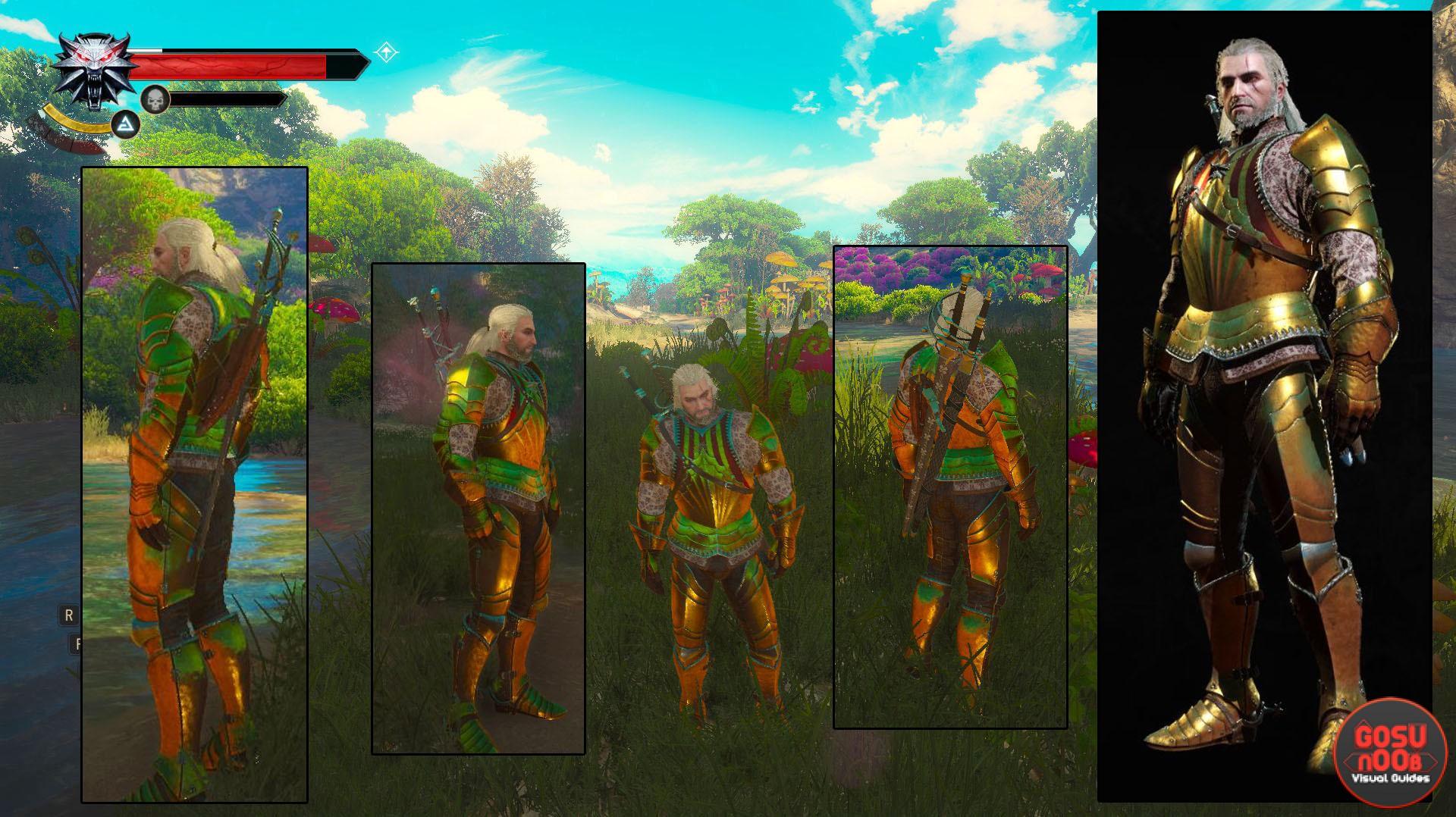 toussaint armor location