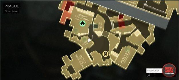 Prague Capek Fountain District deus ex mankind divided