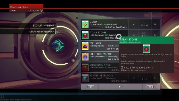 no man's sky atlas stones