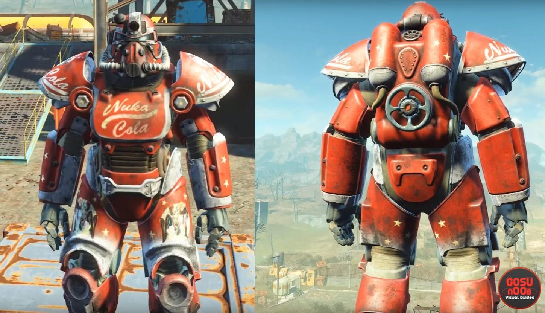 X Power Armour Paint Jobs