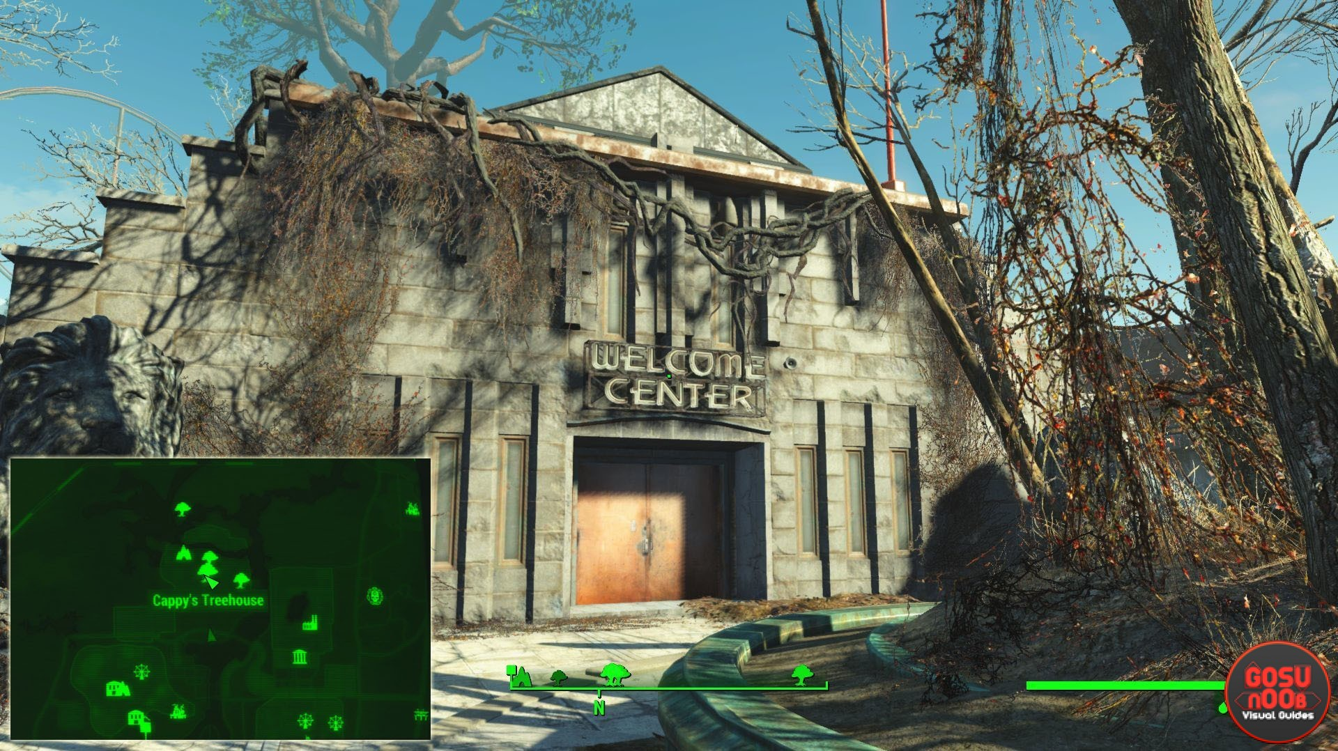 How To Beat Safari Adventure In Fallout 4 | Tom's Hardware Forum
