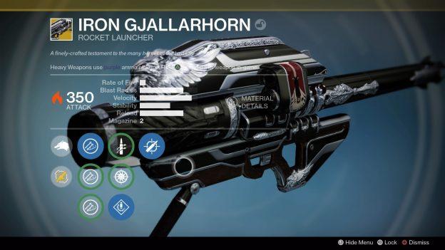 destiny iron gjallarhorn