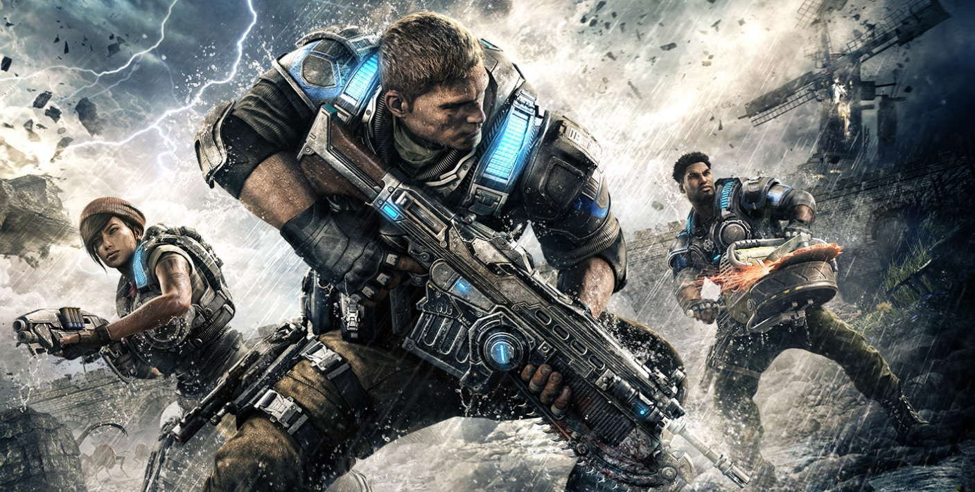 Gears of War 4 - First 20 Minutes of Gameplay