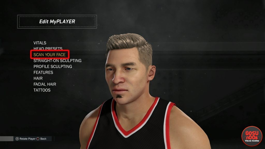 nba 2k17 scan your face myplayer appearance