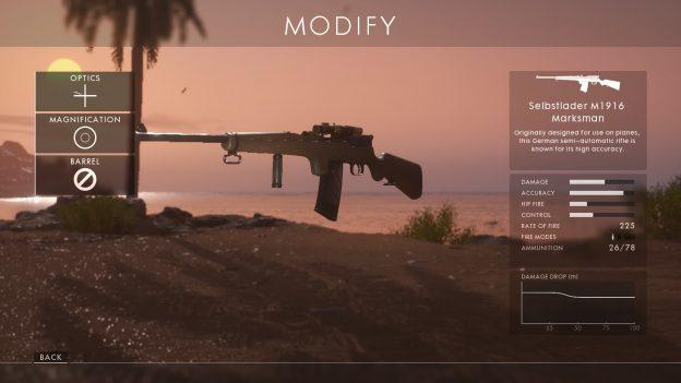 best medic rifle selbstlader m1916 battlefield 1