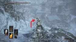 Snowy Mountain Pass Dark Souls 3 Ashes of Ariandel DLC