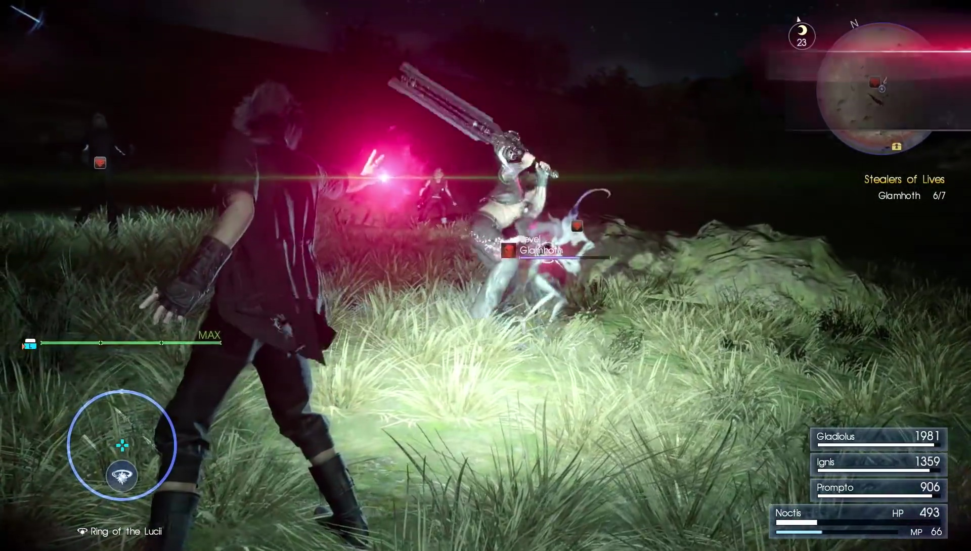 final fantasy xv death spell trailer released. Black Bedroom Furniture Sets. Home Design Ideas