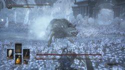 gravetender greatwolf boss dks3 dlc