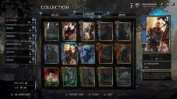 gwent card crafting