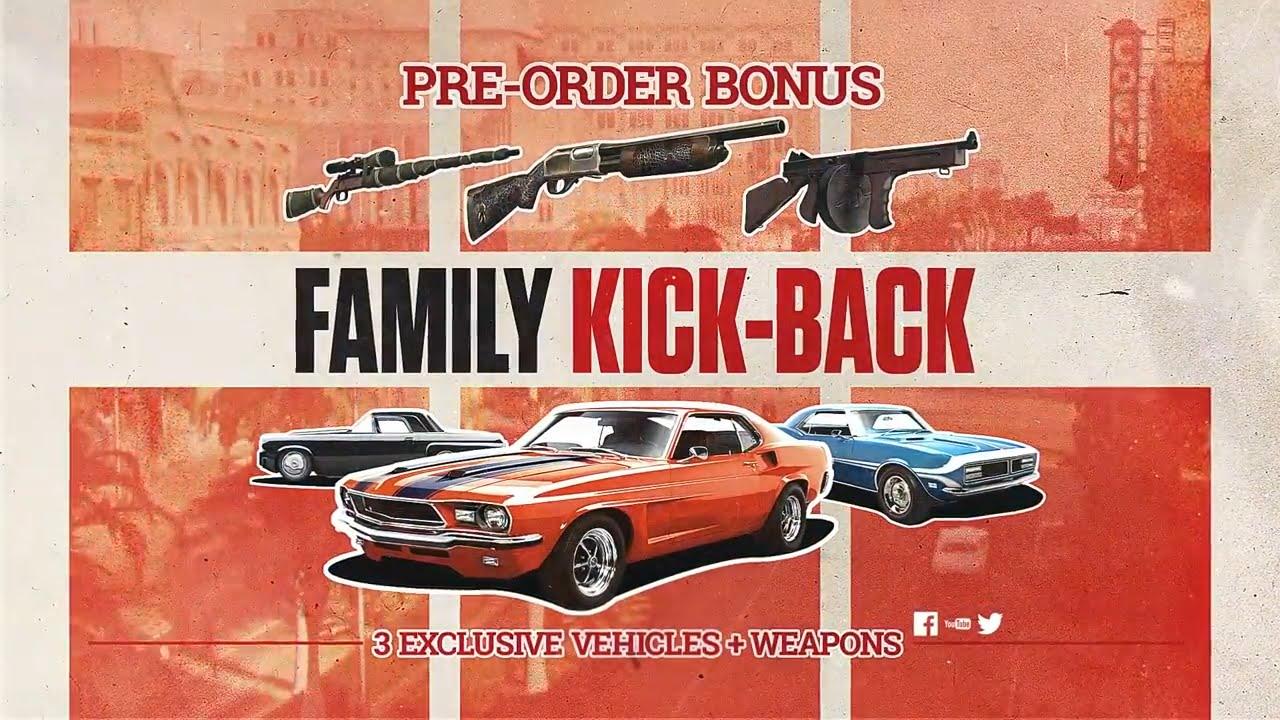 How To Unlock Preorder Bonus In Mafia